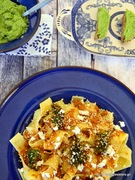 Μαγειρεύοντας με την yoleni's: παπαρδέλες με άρωμα ανατολής και πέστο μπρόκολου-cooking with yoleni's:spicy papardelle and broccoli pesto