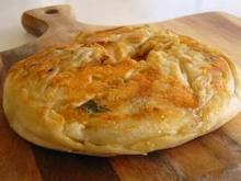 Εύκολη πίτα με έτοιμα ποντιακά φύλλα  - περέκ ή φυλλωτά λαχανά