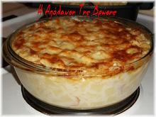 Ζυμαρικά με κρέμα, τυριά, μπέϊκον και μανιτάρια (creamy pasta with bacon, cheese and mushrooms)