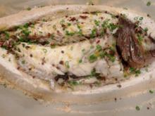 Ψητό ψάρι σε κρούστα αλατιού  - στην κουζίνα της γαλλικής πρεσβείας