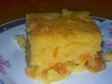 Κέικ με βερίκοκα και σιρόπι
