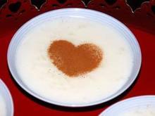 Ρυζόγαλο κρέμα αρωματισμένο με λεμόνι και κανέλα