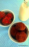 Σοκολατένια πρωτεϊνούχα τρουφάκια με άρωμα πορτοκαλιού - chocolate orange protein balls