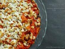 Αλμυρή μεσογειακή τούρτα με ψωμί κ λαχανικά -savoury mediterranean veggie bread cake
