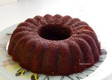 Σοκολατένιο κέικ με κόκκινο κρασί