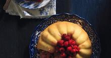 Πουτίγκα με φθινοπωρινά φρούτα