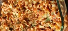 Κρέας από αρνάκι ή κατσικάκι με χυλοπίτες στο φούρνο