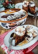 Η καρυδόπιτα της μαμάς με παγωτό aloma stracciatella!