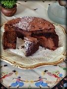 Σοκολατένια  'τούρτα' χωρίς αλεύρι ...το γλυκό των εκλογών!!