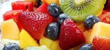 Φρουτοσαλάτα με καλοκαιρινά φρούτα