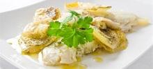 Ψάρι μπιάνκο παραδοσιακό από την κέρκυρα