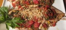 Ρίκι ψάρι ψητό στη λαδόκολλα στο φούρνο