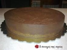 Ganache μαύρης ή λευκής σοκολάτας