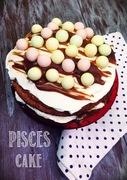 Τούρτα με κέικ μπανάνας και καραμέλα για τους ιχθείς που έχουν γενέθλια by electrolux!