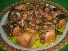 Χταπόδι λαδορίγανη