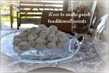 κουραμπιέδες my way - greek traditional sweets