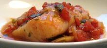 Λακέρδα ψάρι πλακί ψητή στο φούρνο