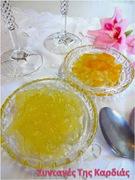 Γλυκό κουταλιού λεμόνι με ανθόνερο