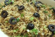 Ρύζι με ελιές