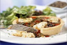 Ταρτάκια με μεσογειακά λαχανικά
