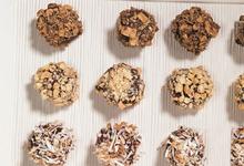 Κουλουράκια με άρωμα λάιμ, λευκή σοκολάτα και αμύγδαλα