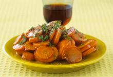 Καρότα με μαύρη ζάχαρη