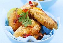 Κοτόπουλο με μουστάρδα και μπαχαρικά