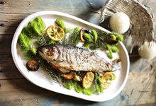 Ψάρι με γέμιση λεμονιού