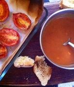 Σούπα από Ψητές Ντομάτες