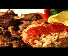 Αρνάκι φάτα με μόζα(Κάιρο)