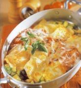 Κρέπες γεμισμένες με λαχανικά και γραβιέρα  Κρήτης