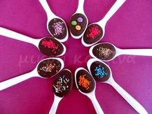 Κουταλάκια με σοκολάτα: ένα παιχνιδιάρικο δωράκι για παιδάκια σε παιδικό πάρτυ