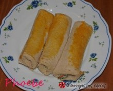 Ρολάκια από ψωμί