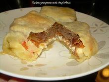 """Σουχλί : ένα νόστιμο """"πακετάκι"""" με κρέας και τυρί"""