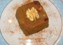 Χαλβάς με αλεύρι και πετιμέζι (χωρίς ζάχαρη)