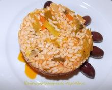 Πρασόρυζο : κεντανές με κερεβίζι και …ρύζι!