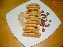 """Σταφιδωτά. Νηστίσιμα και υγιεινά κερασματάκια! Τυροζούλι (ένα """"σπιτικό""""  κρητικό τυράκι ) Πράσινο νεραντζάκι γλυκό Γεμιστά με ρύζι"""