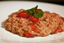 ροζ ριζότο με φράουλες: συνταγή με «ρο» και έκπληξη :-)