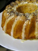κέικ λεμόνι, ζουμερό και μυρωδάτο