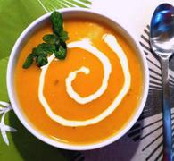 καροτόσουπα με τζίντζερ: baby κάνει κρύο έξω…