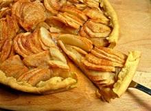 μηλόπιτα ανοιχτή με …έτοιμο το σύμπαν