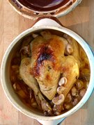 κοτόπουλο με 40 σκόρδα: ξεμάτιασμα στο πιάτο