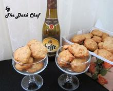 Cookies με μπύρα Leffe Brune, πάστα χουρμάδων και φιστίκια