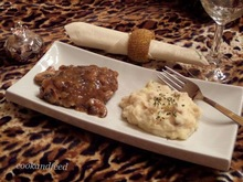 Salisbury Steak With Mushroom Sauce/Salisbury Steak Με Σάλτσα Μανιταριών
