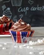 Μπράουνι cupcakes