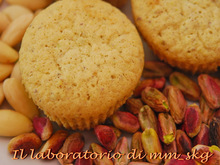 FINANCIERS CON PISTACCHI  *****  FINANCIERS ΜΕ ΦΥΣΤΙΚΙ ΑΙΓΙΝΗΣ