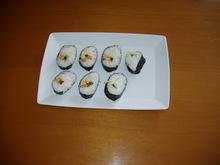 Vegetable Sushi Hosomaki