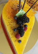 Τούρτα με Mousse Φρούτα του Πάθους