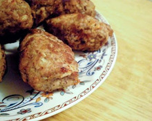 Κεμπάμπ (Κόφτα) / Kebab (Kofta)