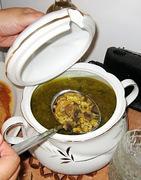 Dzur Dinner - Σούπα Μανιτάρι-Σιτάρι